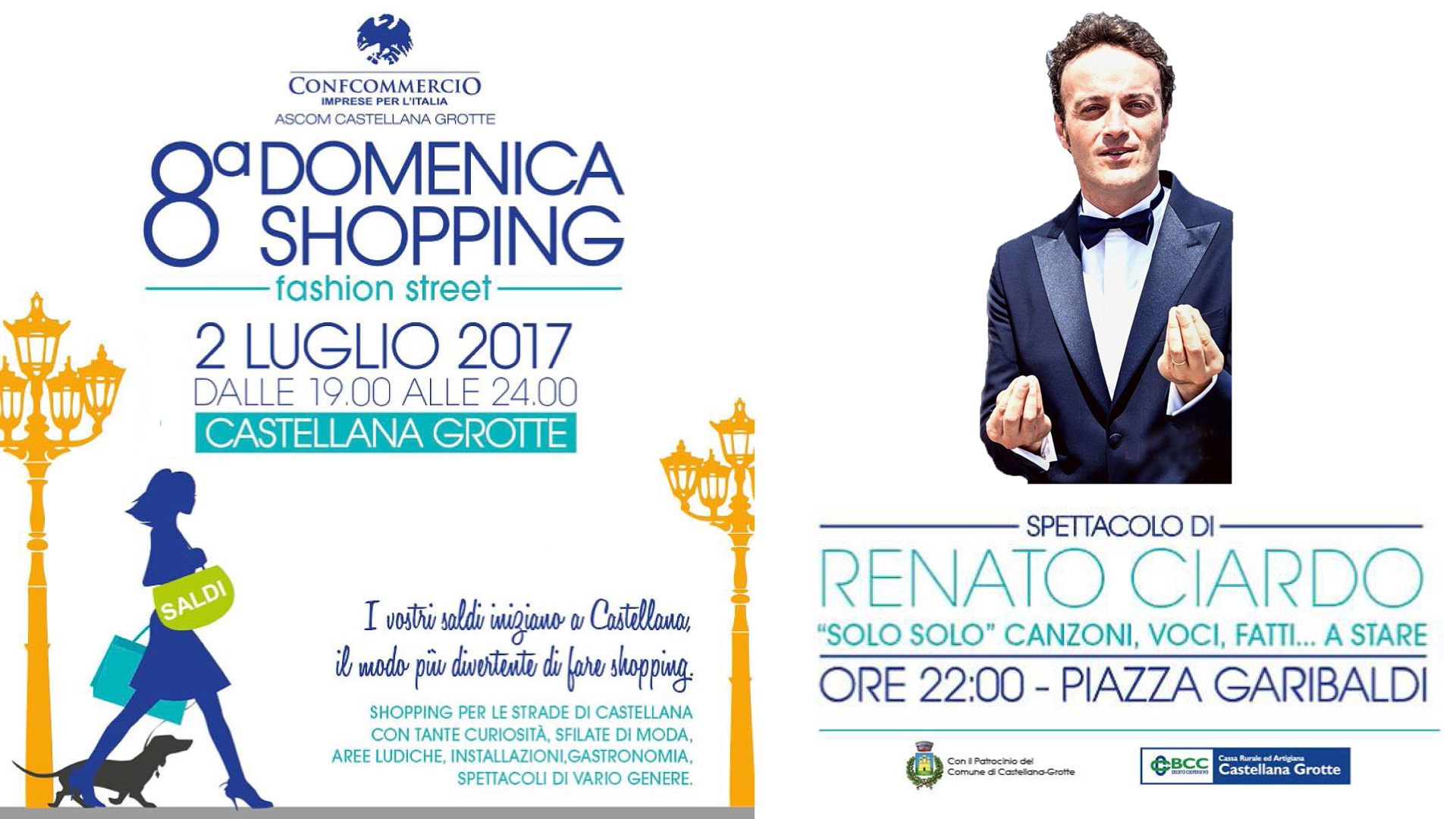8° Domenica Shopping a Castellana Grotte